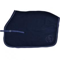 Lændedækken i uld blå Hansbo