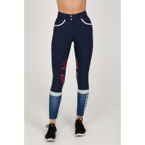 Sports Leggings Navy - Chillout Horsewear