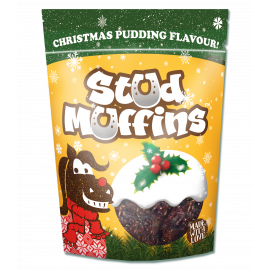 1570109 CHRISTMAS PUDDING STUD MUFFINS