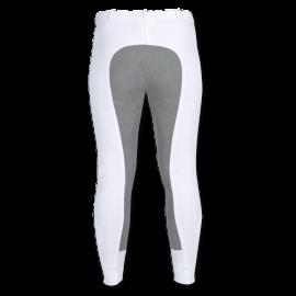 Mikro Sport Ridebukser - Hvid/grå