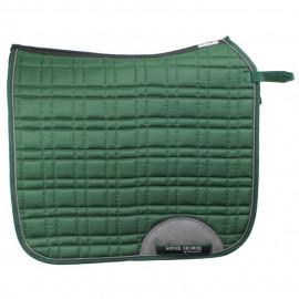 """""""MPro"""" sadelunderlag, Poly/mørk grøn - med cut-back, ventilation og antiskrid- dressur Mink Horse"""