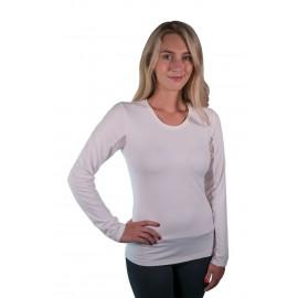 Charlotte Basic long sleeve Hvid KASTEL DENMARK