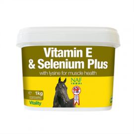 Vitamin E og Selen plus  NAF