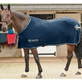 Fleece tæppe til hesten