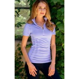 Sømløs t-shirt -Goodrider Lavendel